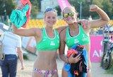 Europos jaunimo paplūdimio tinklinio čempionate – solidus lietuvių startas (papildyta)