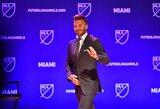 Los Andžele iškils D.Beckhamui skirta statula