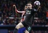 """""""Liverpool"""" saugas priminė: """"Atletico"""" žaidėjai pamiršo, kad turės atvykti į """"Anfield"""" stadioną"""""""
