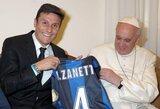 "Rugpjūtį 40-metį perkopsiantis J.Zanetti ""Inter"" klube lieka dar metams"