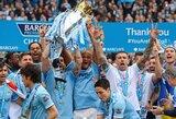 """Kiek iš viso futbolo klubų yra pavykę iškovoti """"Premier"""" lygos titulą?"""