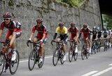 Ketvirtąjį dviračių lenktynių Šveicarijoje etapą A.Kruopis baigė kartu su lyderių grupe