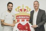 """Prie """"AS Monaco"""" prisijungęs C.Fabregasas: """"Esu čia tam, kad padėčiau komandai"""""""