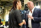 Užkulisiai: C.Cyborg vadino D.White'ą melagiu, UFC prezidentas žadėjo antrą kovą prieš A.Nunes