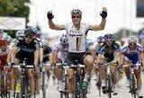 Pirmajame daugiadienių dviračių lenktynių Prancūzijoje etape E.Juodvalkis finišavo 23-as, nugalėjo J.Degenkolbas