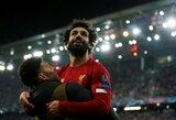 """Čempionų lyga: lemiamas rungtynes laimėję """"Liverpool"""" užsitikrino vietą kitame etape"""