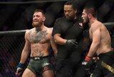 """UFC prezidentas: """"Chabibas nepraras čempiono diržo, bet bus suspenduotas"""""""