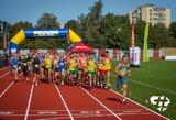 Unikaliame 1 val. bėgime Marijampolėje – J.Strazdo ir V.Varnagirytės pergalės