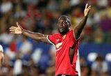 """R.Lukaku debiutas """"Man Utd"""" klube pažymėtas užtikrinta pergale prieš """"Galaxy"""""""