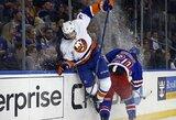 """Niujorko derbyje """"Islanders"""" iškovojo labai svarbią pergalę"""