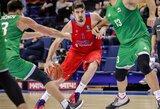 CSKA nepaliko vilčių svečiams iš Bambergo