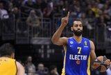 """B.Randle'as toliau žais """"Maccabi"""" ekipoje"""