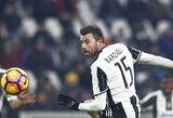 """""""Juventus"""" gynėjas A.Barzagli paskelbė apie karjeros pabaigą"""