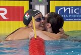 Europos plaukimo čempionate – R.Meilutytės pėdomis sekančios 14-metės italės auksas