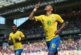 Neymaro pasirodymu nusivylęs Ronaldo davė žvaigždei patarimų