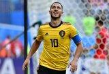 """""""Barcelona"""" rimtai siekia prisivilioti E.Hazardas: už jį siūlomi ne tik pinigai, bet ir O.Dembele"""