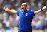 """M.Sarri neketina """"Napoli"""" sėkmės formulę kopijuoti ir Londone"""