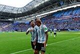 A.Di Maria atskleidė geriausią futbolininką, su kuriuo yra rungtyniavęs