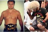 """O.Taktarovas nelaiko Ch.Nurmagomedovo pirmuoju Rusijos UFC čempionu: """"Jis iš tų kalniečių, kurie pasislepia, kai ateina armija"""""""