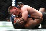 """""""UFC 220"""" medikų išvados: F.Ngannou suspenduotas mėnesiui, V.Oezdemiras – 45 dienoms"""