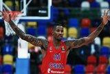 """Ketvirtajame kėlinyje palūžusi """"Baskonia"""" neatsilaikė prieš CSKA, tačiau iškovojo kelialapį į atkrintamąsias"""