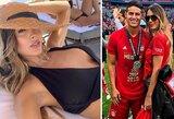 Gražuolė J.Rodriguezo mergina neigia sugriovusi jo santuoką su ankstesne žmona