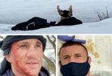 UFC kovotojas iš Gruzijos šokdamas į vandenį pataikė į ledą: teko siūti galvą