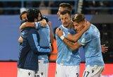 """Italijos taurės savininkai """"Lazio"""" nugalėjo """"Juventus"""" ir triumfavo Supertaurės turnyre"""