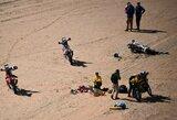 Dakaro čempionas bandė gelbėti P.Goncalvesą, vieno iš lyderių variklis neatlaikė (papildyta)