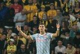 """Čempionų lygos starte – C.Ronaldo įvartis, A.Wan-Bissakos raudona kortelė ir netikėtas """"Man Utd"""" pralaimėjimas prieš """"Young Boys"""""""