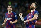 """Teks pasukti galvą: """"Barcai"""" iki sezono pabaigos reikia surinkti įspūdingą pinigų sumą"""