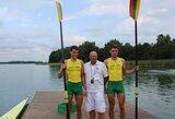 Broliai Lapatiukai kovos dėl pasaulio jaunių irklavimo čempionato Trakuose medalių (komentaras)