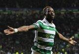 """""""Celtic"""" lyderis M.Dembele keliasi į """"Premier"""" lygą"""