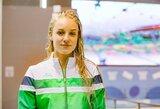 Jaunimo olimpiadoje A.Šeleikaitė į pusfinalį pateko su geriausiu rezultatu