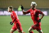 A.Novikovas 94-ąją minutę išplėšė Lietuvos rinktinei pergalę prieš Kazachstaną