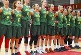 Paaiškėjo Lietuvos moterų rinktinės varžovės atrankos turnyre