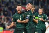 Septynios pergalės iš septynių: Italija užsitikrino vietą Europos čempionate