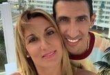 """Pašiurpusi A.Di Maria žmona: """"Važiuok, kur nori, tik ne į Angliją"""""""