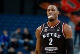 """""""Rytas"""" suspendavo D.Suttoną, krepšininkas atskleidė turintis problemų su valdžia"""