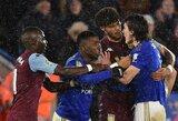"""Pirmosiose """"Carabao"""" taurės pusfinalio rungtynėse """"Leicester City"""" neįgijo pranašumo"""