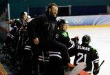 """Beveik visą mačą varžovus besivijusi """"Hockey Punks"""" triumfavo Klaipėdoje"""