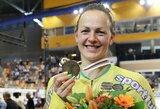 """Dviratininkė S.Krupeckaitė: """"Gal pasaulio čempionate bus dar geriau?"""""""