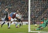 """Trijų pralaimėjimų seriją nutraukusi """"Aston Villa"""" nugalėjo """"Newcastle United"""""""