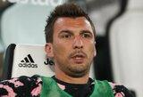 """""""Juventus"""" į savo sudėtį Čempionų lygai neįtraukė E.Cano bei M.Mandžukičiaus"""