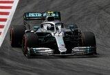 Įspūdingą ratą nuvažiavęs V.Bottas nepaliko vilčių net ir L.Hamiltonui