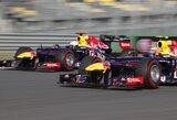 """""""Red Bull"""" ekipos pilotai tikisi rikiuotės priekyje išlikti viso savaitgalio metu"""