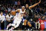 """P.Pierce'as įsirašė į NBA istoriją, """"Clippers"""" arenoje dingo šviesos"""