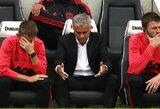 """J.Mourinho įvardino pagrindines pralaimėjimo """"Brighton"""" priežastis bei atskleidė, ko niekada nebedarys"""