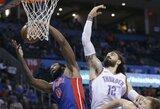 """D.Casey debiutas prie """"Pistons"""" vairo pažymėtas A.Drummondo dominavimu"""