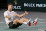 Netikėta: neseniai R.Berankio nugalėtas serbas pateko į ATP 1000 turnyro finalą (papildyta)